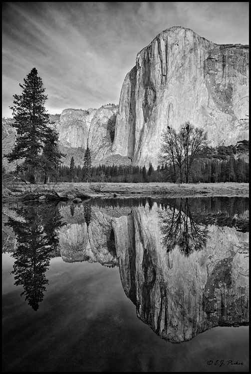 Black and white photography yosemite ansel adams el capitan