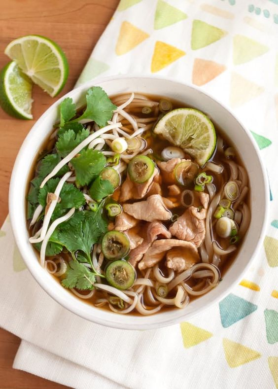 How To Make Quick Vietnamese Beef Noodle Pho — Cooking Lessons from The Kitchn   The Kitchn