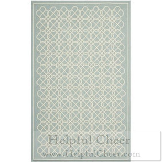 Safavieh Hand-made Chelsea Blue Ivory Wool Rug 5 x27 3 x 8 x27 3 - at - 0