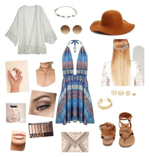 """""""Date night // boho"""" by janajeanfritz on Polyvore featuring Calypso St. Barth, Breckelle's, LULUS, Phase 3, Victoria Beckham, John Lewis, Lipsy, BCBGMAXAZRIA, MDMflow and Abercrombie & Fitch"""