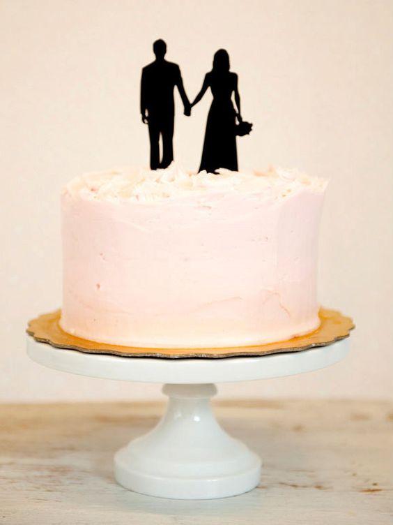 kuchenkult hochzeit tortenfiguren scherenschnitt1 HOCHZeit auf der Torte – hier gibt's die süßesten Figuren