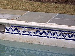 Info On Common Pool Repairs Including Replacing Tiles And Fixing The Expansion Joint Crack