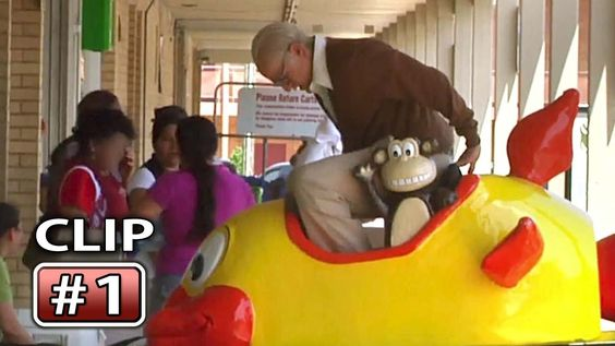 """Jackass' BAD GRANDPA """"Crazy Ride"""" Movie """"Well, it's fixed"""". Hahahaha!!"""