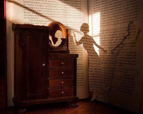 Pour échapper à la réalité, cachons nous dans les livres…   !