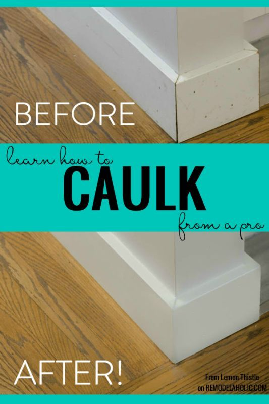 How To Caulk Your Diy Projects For A Truly Finished Professional