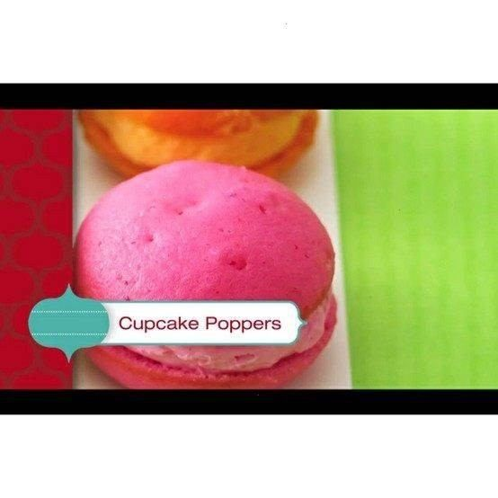 """super cute! pretty much tiny whoopee pies! search """"cupcake poppers"""" on youtube to find!"""