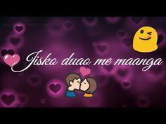 Jisko Duao Me Maanga Female Version New Love Romantic Whatsapp Statu New Whatsapp Video Download Youtube Videos Music Download Free Movies Online