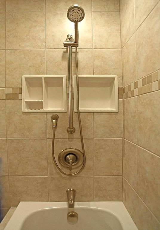 Tile Shower Soap Dish Inserts Bathroom Shampoo Soap Shelf Dish
