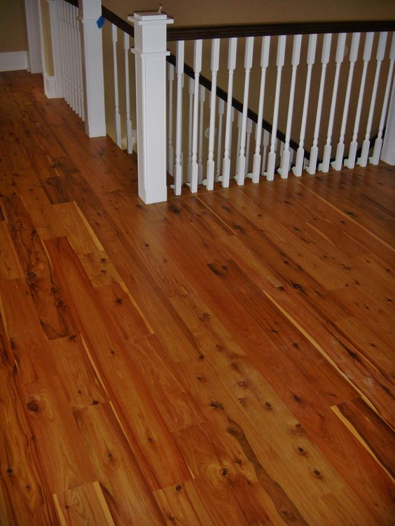 Australian cypress hardwood floors finished with 3 coats of polyurethane hardwood flooring - Australian cypress hardwood ...