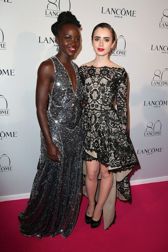 Lupita Nyong'o, Julia Roberts, and More Celebrate Lancôme's 80th Birthday  - ELLE.com