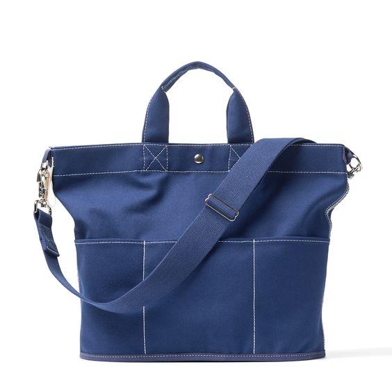 bucket トートバッグ   藍色