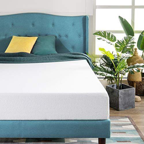 Zinus Green Tea Mattress Twin Xl White Foam Mattress Zinus Foam Bed