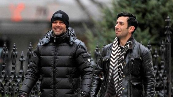 Ricky Martin junto a Jwan Yosef (Foto: The Grosby Group)