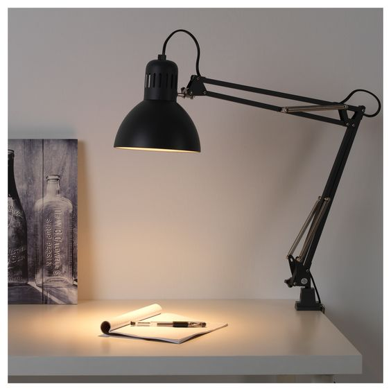 TERTIAL Work lamp with LED bulb - IKEA