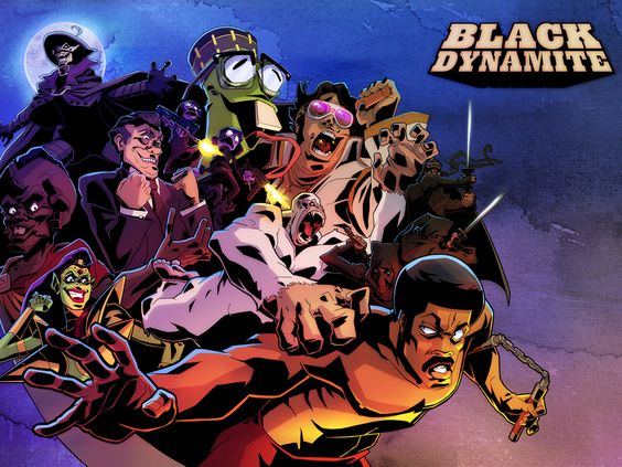 Black Dynamite Cartoon