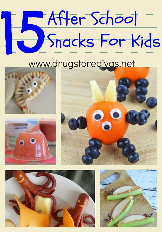 Get ready for back to school time with these 15 After School Snacks For Kids from www.drugstoredivas.net.