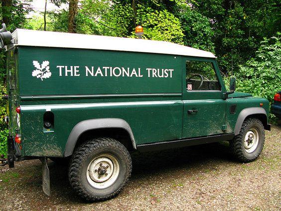 National Trust Landrover Defender