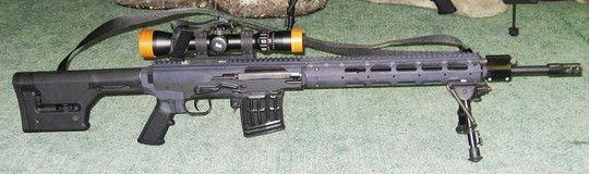 The Firearm Blog » Magpulized Russian Dragunov (SVD) Rifle