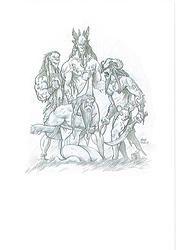 Original: Crónicas de Gaidil #13. Original realizado en 2007, para el libro de rol Crónicas de Gaidil. Puedes comprarlo en www.victorrivasillustration.com