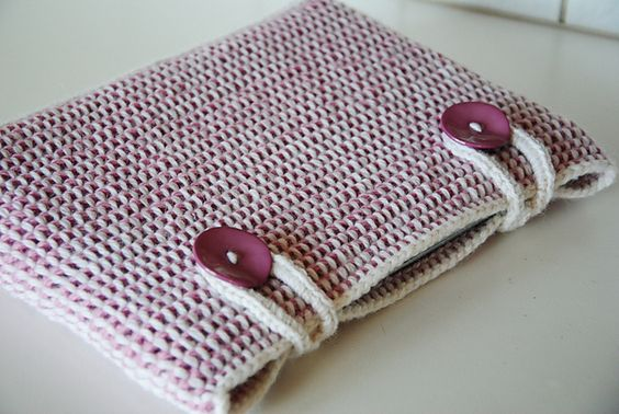 Ravelry: Generic Tunisian Crocheted Computer Sleeve Pattern pattern by Maria Olsson