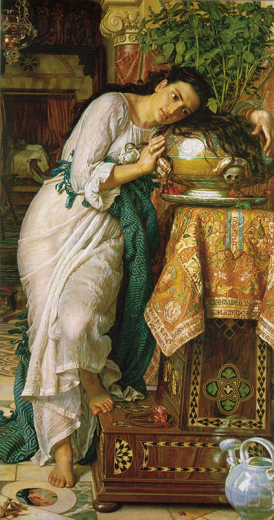 William Holman Hunt, Isabella and the Pot of Basil, 1876