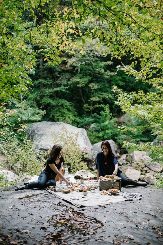 Local Milk | road trip: an appalachian picnic + quinoa roasted fennel & parsnip salad