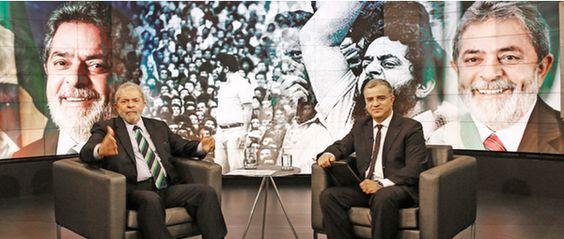 Eita! @fernandocabral  29 minHá 29 minutos NÃO PERCÃO! Hoje, 19h45, @KennedyAlencar entrevista #LulaNoSBT.