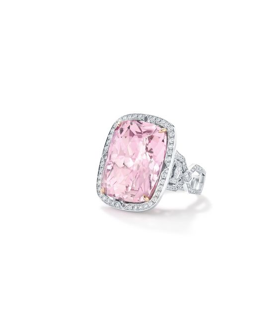 Boodles Exceptional Stones - a Vintage style ring featuring a two - jewelry brochure