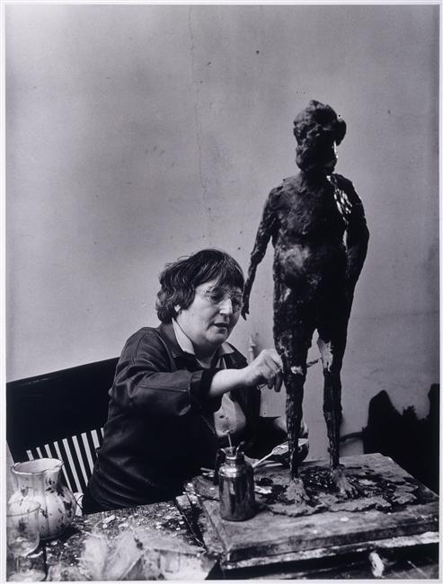 Germaine Richier (Rogi André, 1949)