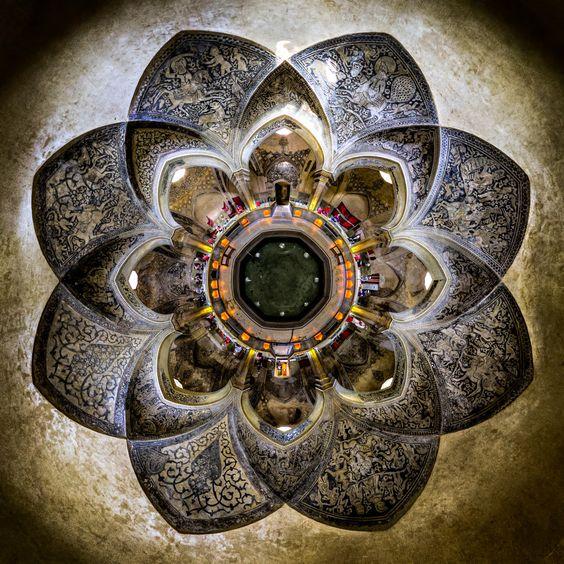 Galeria de Fotografia e Arquitetura: Mohammad Reza Domiri Ganji - Dentro dos Templos Iranianos - 2