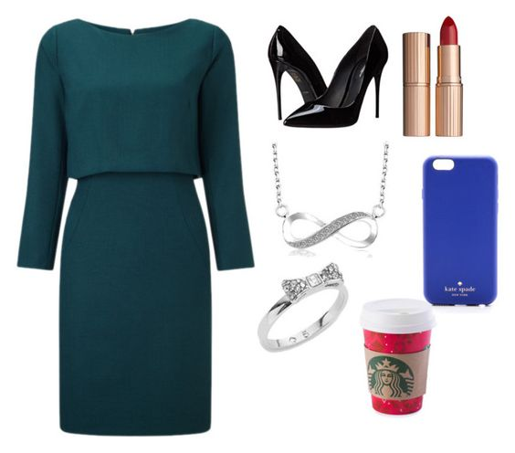 """""""Untitled #21"""" by sselmanagic ❤ liked on Polyvore featuring Dolce&Gabbana, Kate Spade and Charlotte Tilbury"""
