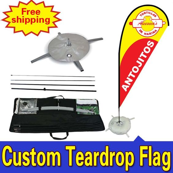 Find More Flags, Banners & Accessories Information about 68cm*260cm Custom Trade Show Displays  Single Side  Printing Teardrop Banners Flags with Cross Water Bag Any Design Color Logo ,High Quality flag paper,China flag stake Suppliers, Cheap flag shops from themartshop on Aliexpress.com