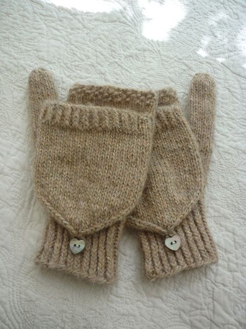 Knitting Pattern For Flip Top Mittens : Mom, Ravelry and My mom on Pinterest