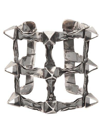 interesting  EMANUELE BICOCCHI Pierced cuff -