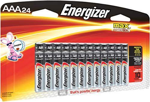 Energizer Max Aa Batteries Aaa Batteries Combo Pack 24 Aa And 24 Aaa 48 Count Energizer Energizer Battery Batteries