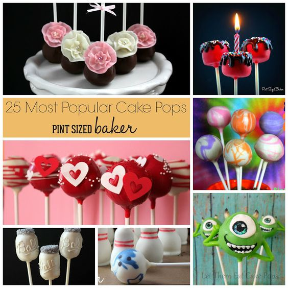 Best Cake Pops Round-up // Los mejores cake pops