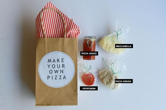 Wedding Gift Spaghetti Sauce : ... spaghetti and take home gift, make your own pizza with sauce, cheese