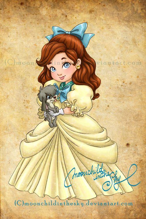 Crianças Disney Princesas Anastacia