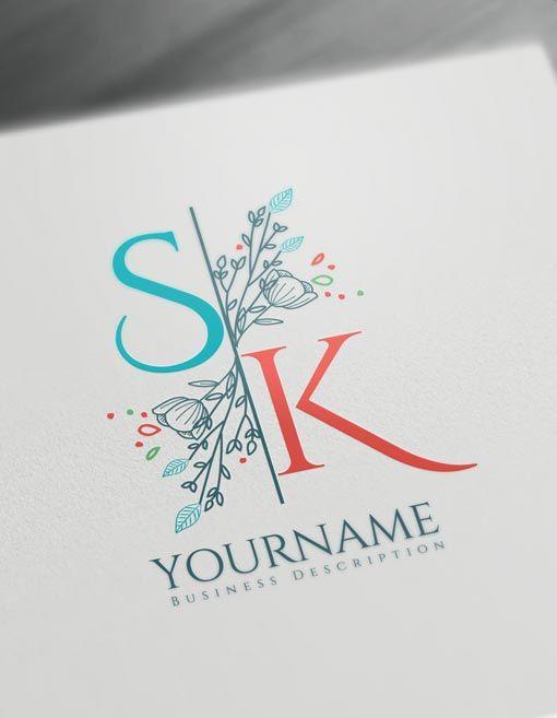 Create Vintage Logo Designs Using The Best Free Vintage Logo Maker In 2020 Initials Logo Design Logo Design Template Monogram Logo Design