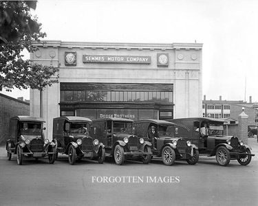 Early Dodge Dealership 1910s. 8x10 photo print. $12.95.