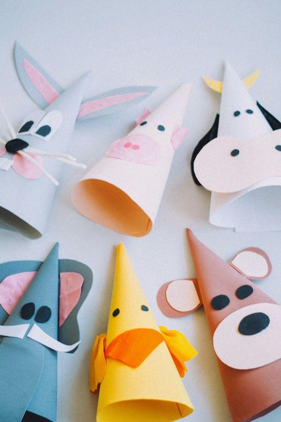 Sombreros de carnaval goma eva diy : via La Chimenea de las Hadas