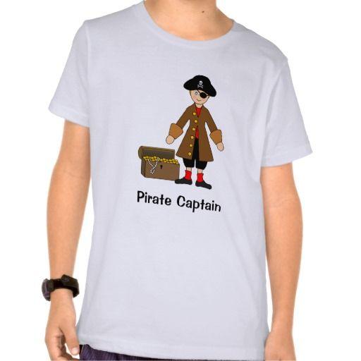 Cute Halloween Kids -- Pirate Captain costume T Shirt, Hoodie Sweatshirt