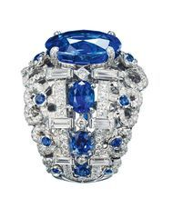 """One of the revered """"big three"""" coloured gemstones, blue sapphires are our gemstone of the month"""