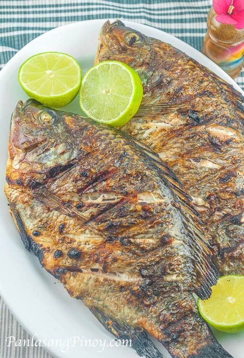 Tilapia recipes grilled tilapia and summer time on pinterest for How to cook tilapia fish