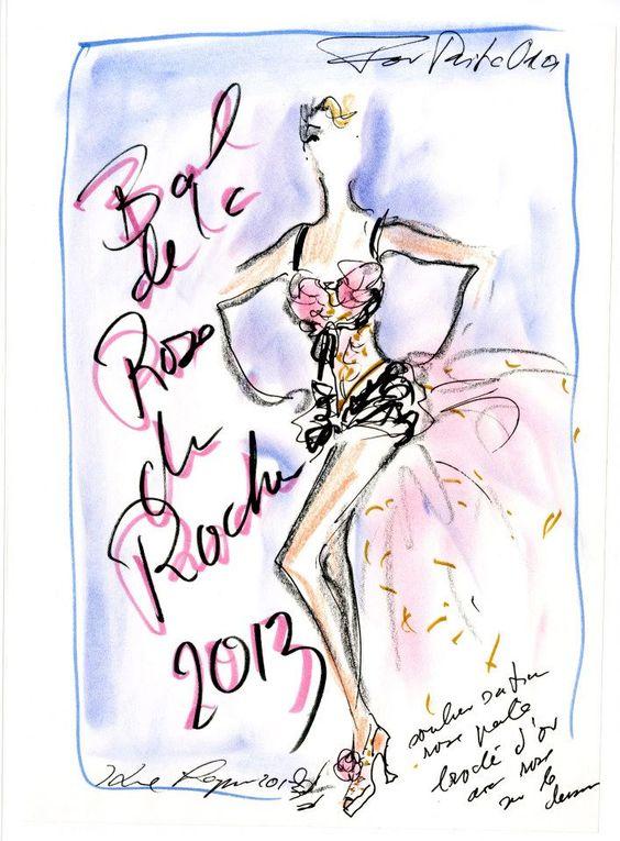 CHANEL- para Baile de la rosa en Mónaco