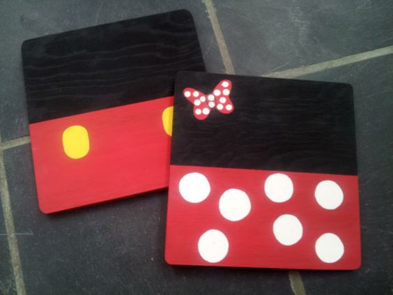 Mickey And Minnie Mouse Paintings 45 For Both Hailey B