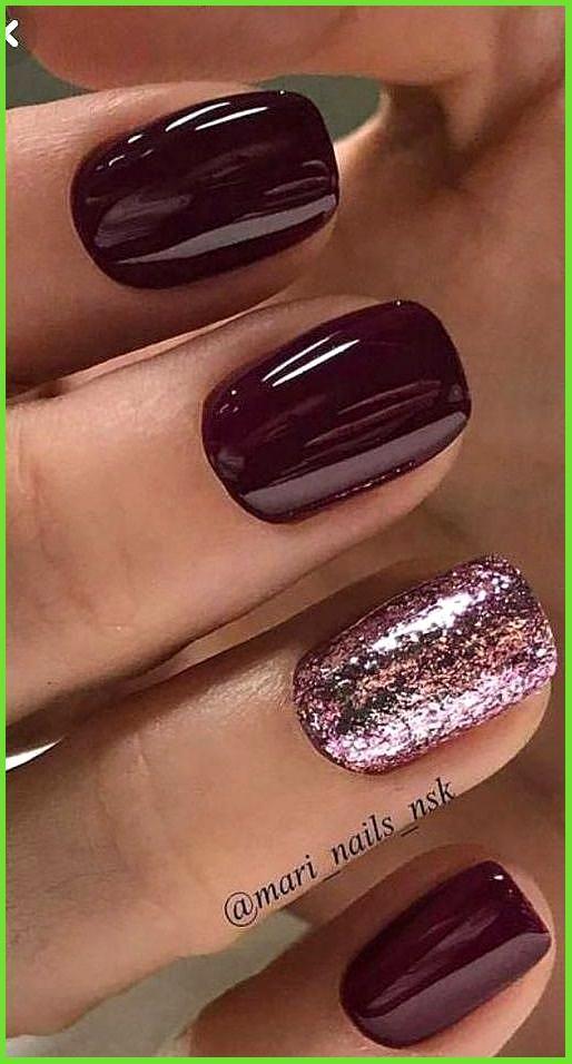 70 Sensational Winter Nail Colors To Make You Feel Warm In 2021 Classy Nail Designs Nail Polish Modern Nails