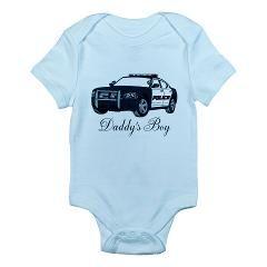 Daddy's Boy Police Cruiser Infant Bodysuit > Infant bodysuits > The Art Studio by Mark Moore