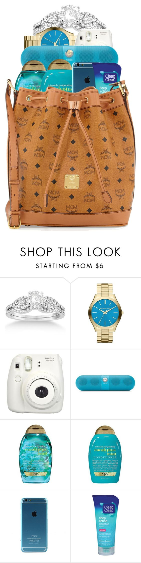 """""""Soon to be premade"""" by haraj-uku ❤ liked on Polyvore featuring Allurez, Michael Kors, Beats by Dr. Dre, Organix, Clean & Clear and MCM"""