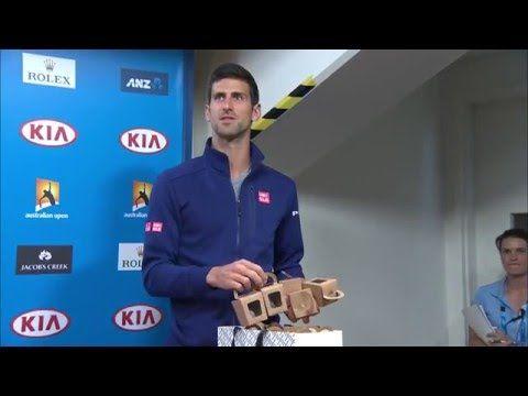NOVAK DJOKOVIC | Novak has continued the tradition of presenting...